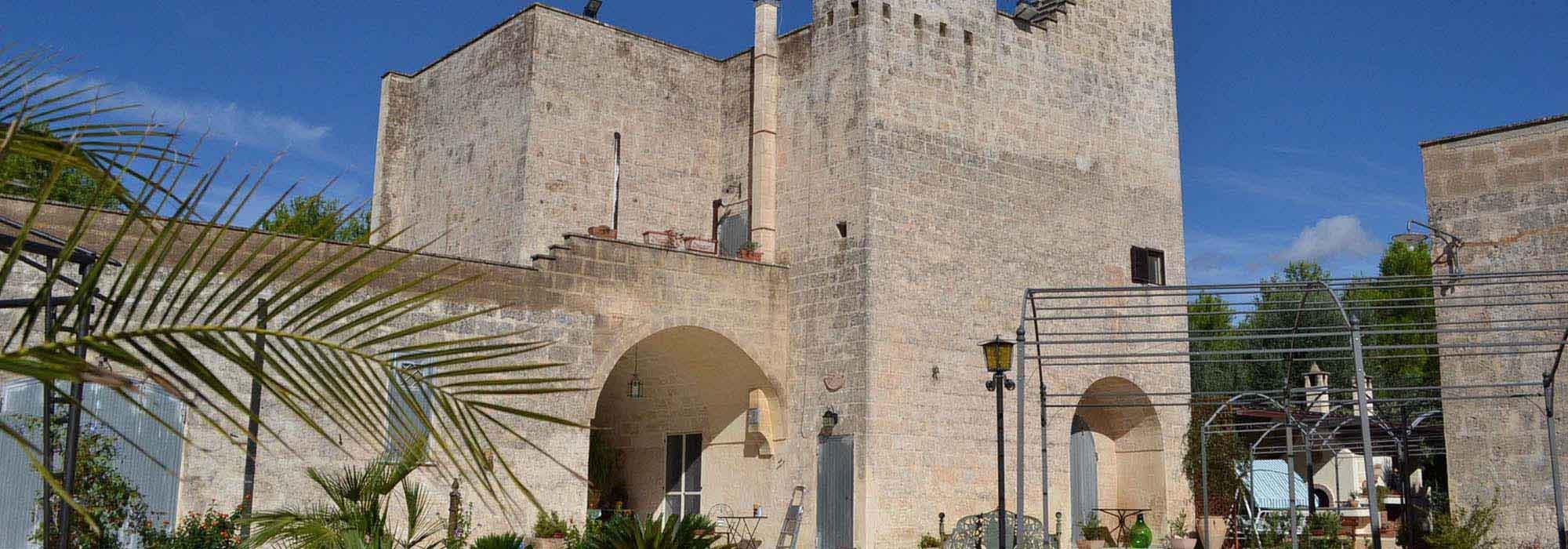 FRANCAVILLA FONTANA: MASSERIA DEL 1550.